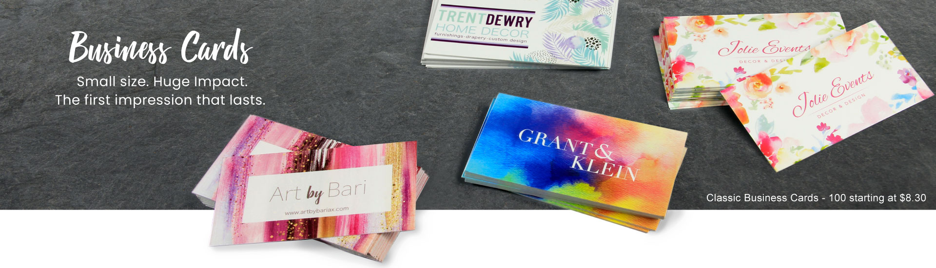 Business Cards Banner