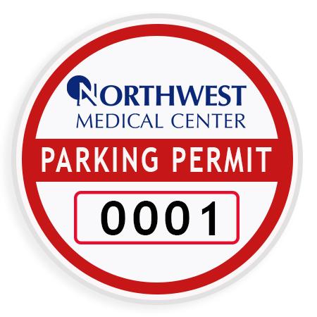 Medical Parking Permit Photo