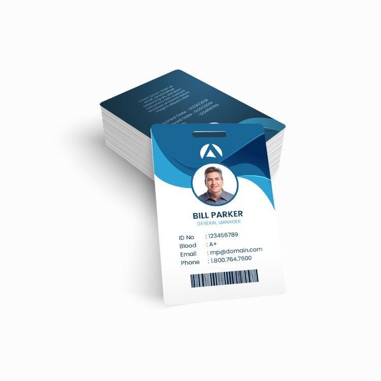 Plastic ID Badges Photo