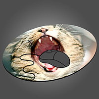 Round Mouse Pad Photo